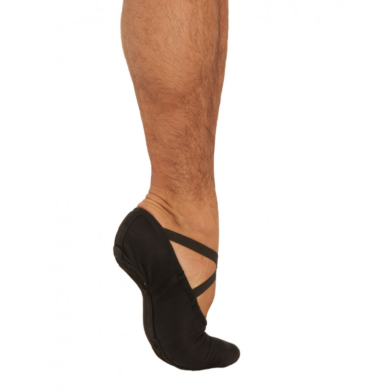 Demi-pointes Stretch One noir