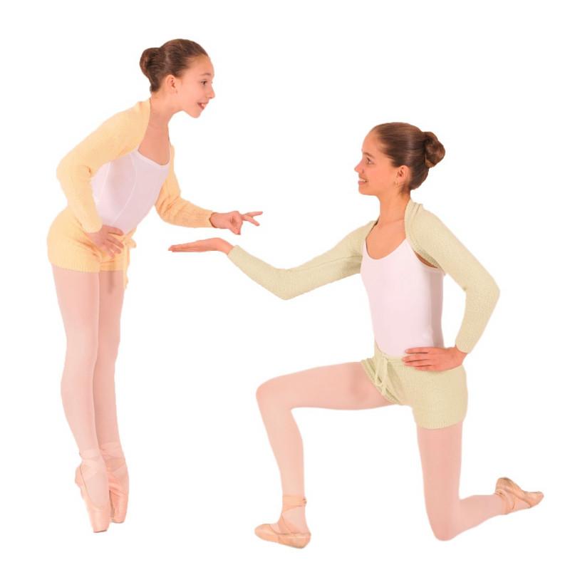 Short Sansha Mallorie et chauffe épaules