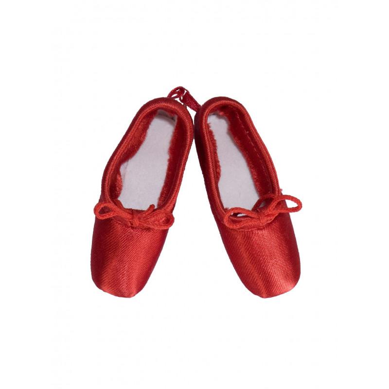 Mini pointes Sansha rouge
