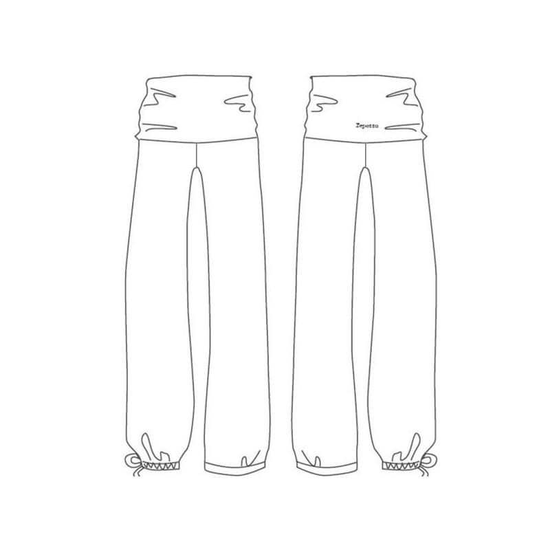 Pantalon Repetto W0386
