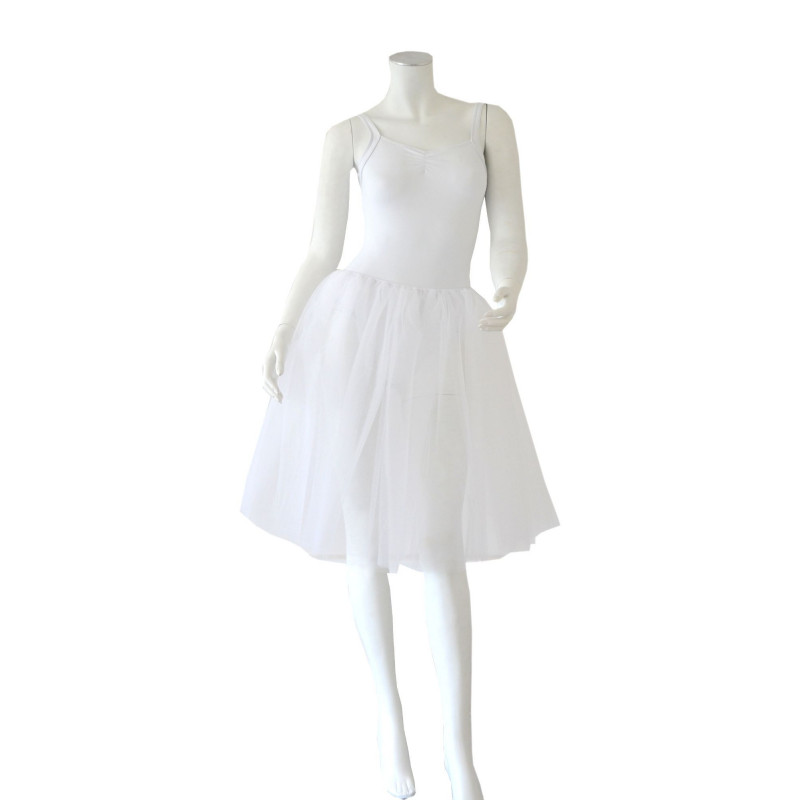 Bas de tutu Degas blanc