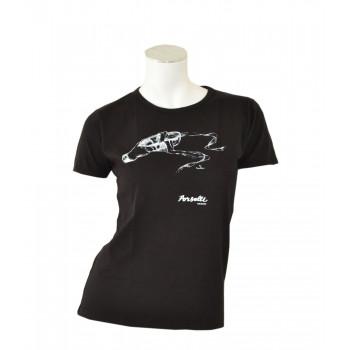 Tee-shirt Porselli noir