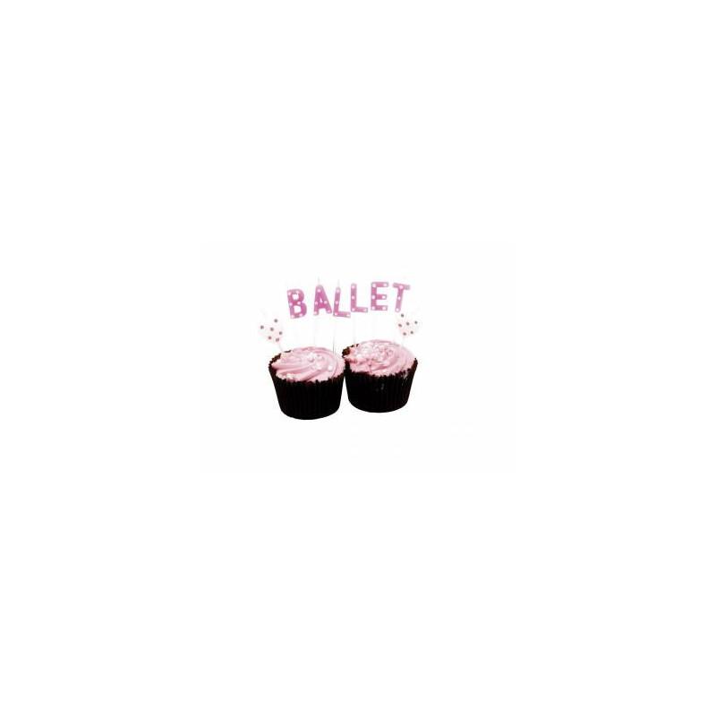 """Bougies """"Ballet"""""""
