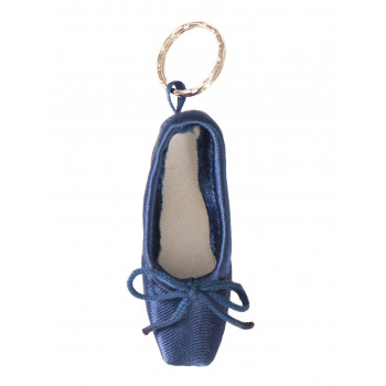 Porte-clé mini-pointe Sansha bleu