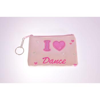 Porte-monnaie I love dance