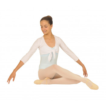 Cache-coeur Degas polaire léger blanc