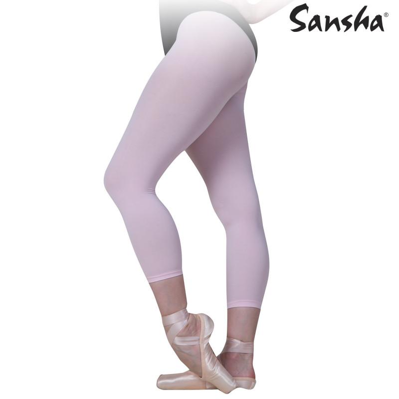 Collant Sansha sans pieds rose