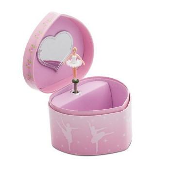 Boîte à musique Katz coeur rose