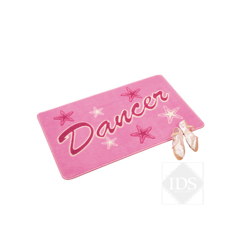 "Tapis rose ""dancer"""