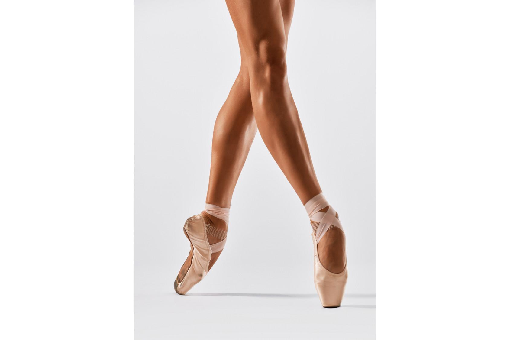 Chaussons, pointes et demi-pointes de danse classique
