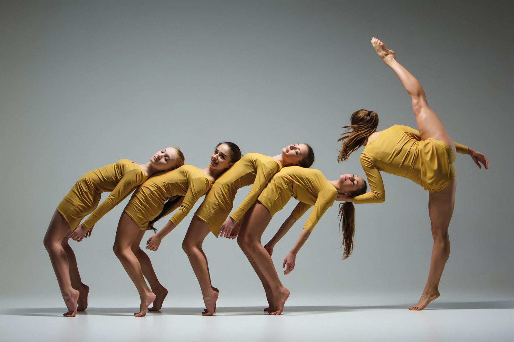 Danse contemporaine filles